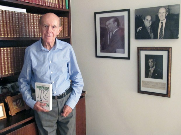 Ex-deputado Carlos Murilo, em sua casa, em Brasília (Foto: Laura Tizzo/G1)