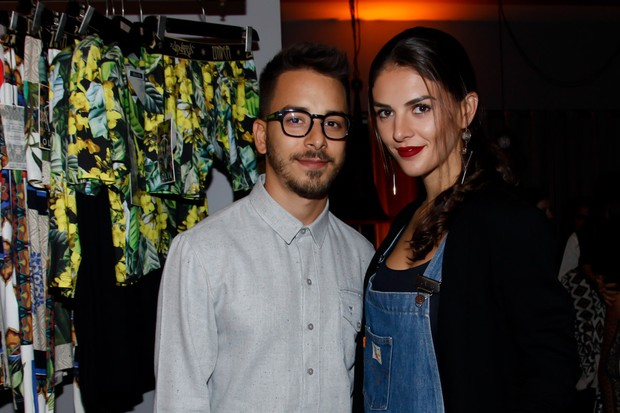 Junior Lima e Monica Benini (Foto: Marcos Ribas/BrazilNews)