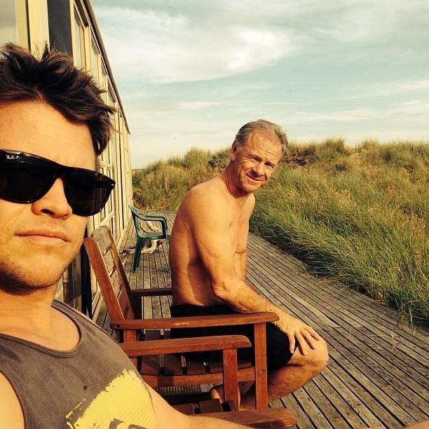 Famíla Hemsworth (Foto: Reprodução/Instagram)