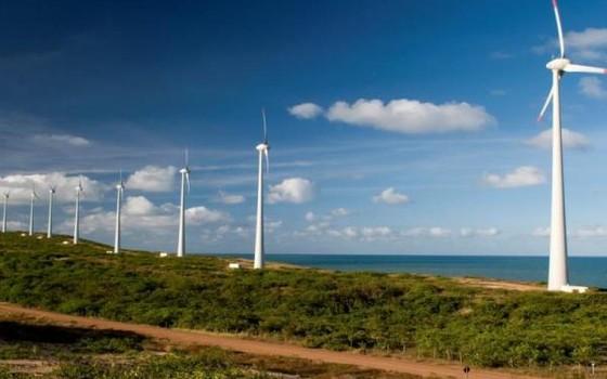Usina eólica no Nordeste (Foto: Divulgação  - Abeeólica)