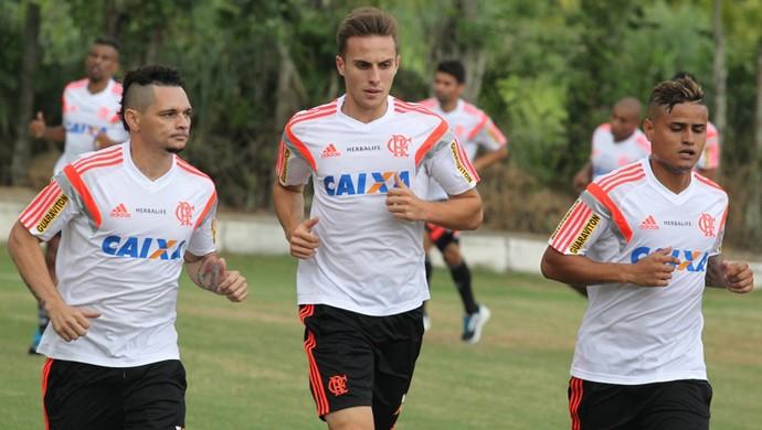 Bressan, treino do Flamengo (Foto: Gilvan de Souza / Site do Flamengo)