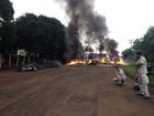 Funcionários da Araupel protestam pelo segundo dia seguido no Paraná