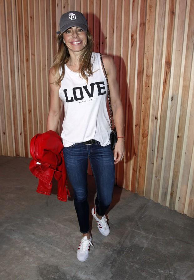 Daniella Cicarelli no Lollapalooza (Foto: Celso Tavares/EGO)