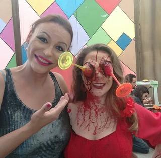 """Luisa Marilac em cena do filme """"Bonequinha da mamãe"""" (Foto: arquivo pessoal)"""