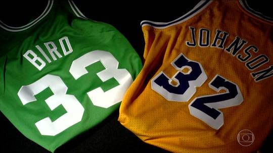 NBA70: rivalidade Magic-Bird e chegada de Jordan mudaram a liga