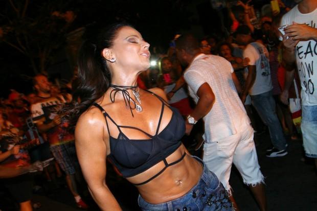 d4f265c9aa231 Viviane Araújo no ensaio do Salgueiro (Foto  Anderson Borde   AgNews)