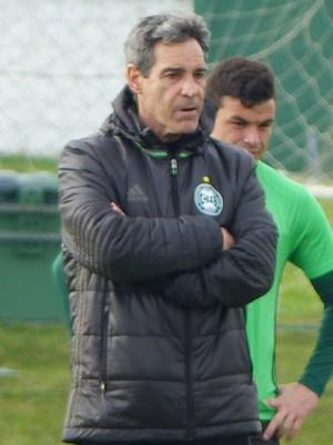 Carpegiani Coritiba (Foto: Thiago Ribeiro/RPC)