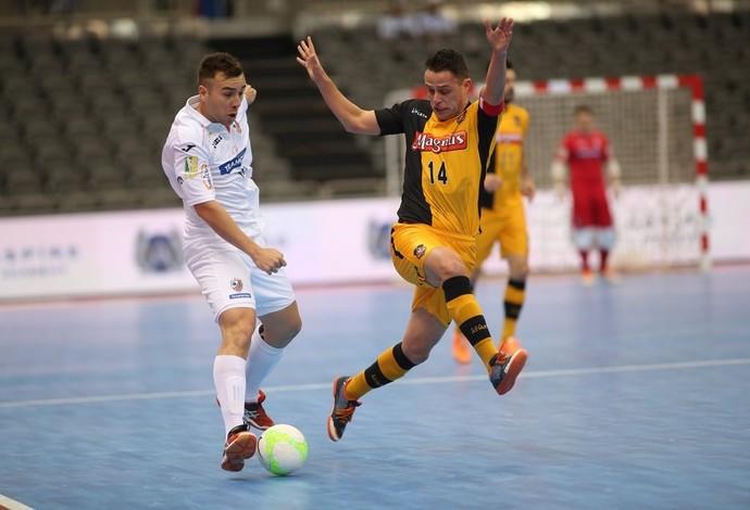 Carlos Barbosa Sorocaba final Copa Intercontinental de Futsal (Foto: Qatar Football/Divulgação)