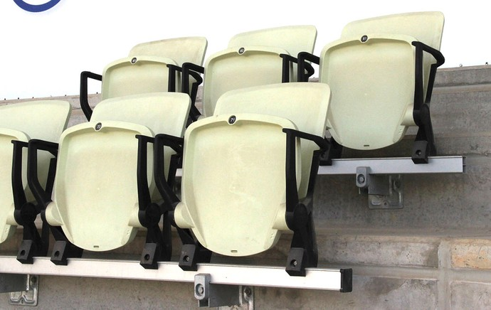 Cadeiras Arena Palmeiras (Foto: Sergio Gandolphi)