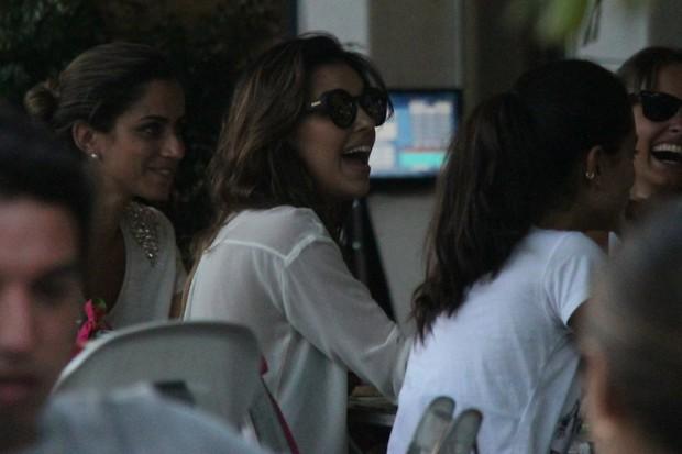 Mariana Rio e Di Ferrero no Rio (Foto: Gabriel Rangel/Ag. News)