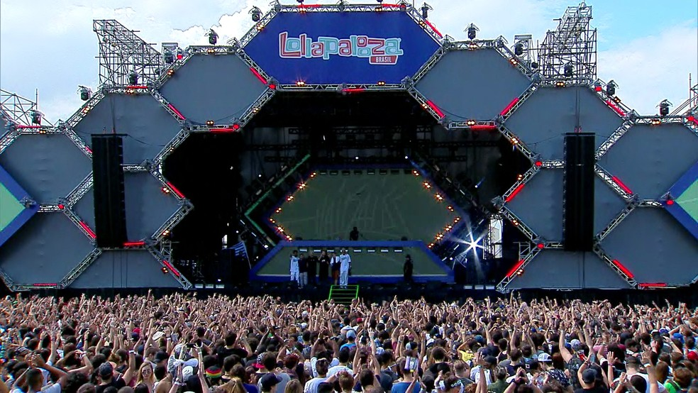 Palco Perry's no Lollapalooza (Foto: G1 )