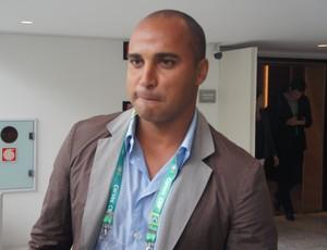 Deivid (Cruzeiro) no seminário técnico de treinadores na CBF (Foto: Sofia Miranda)