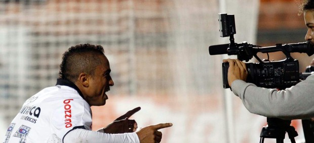Jorge Henrique gol Corinthians (Foto: Gustavo Tilio / Globoesporte.com)