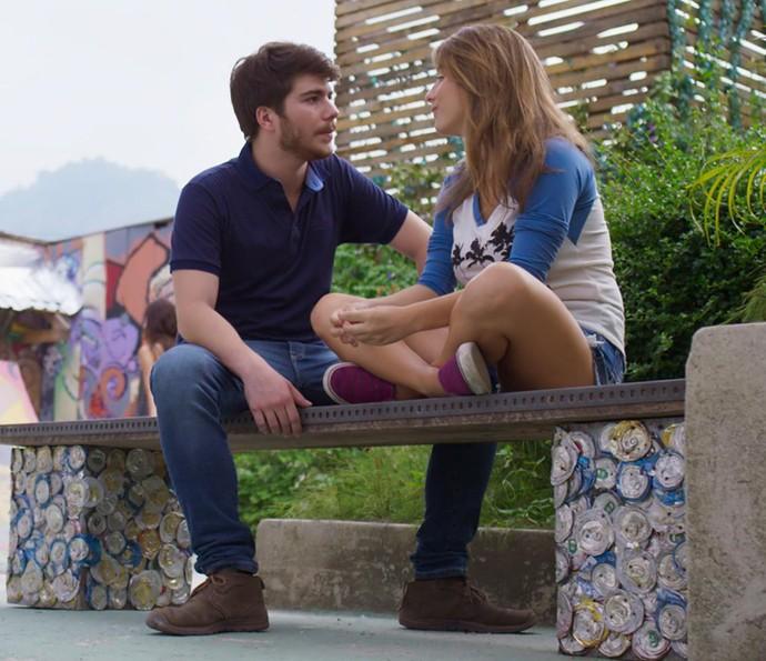 Camila conta que está pensando em retirar seu depoimento do documentário (Foto: TV Globo)