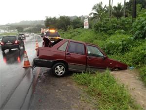PRF registrou três acidentes em rodovias (Foto: Walter Paparazzo/G1)