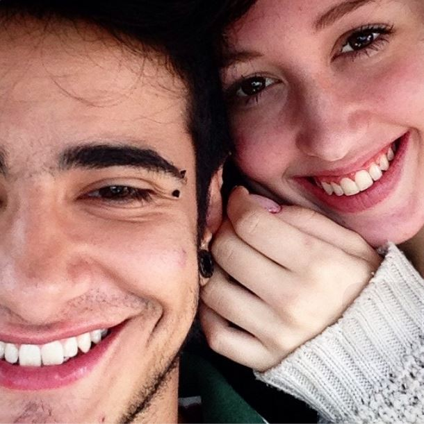 Tereza Brant com a namorada (Foto: Instagram/Reprodução)