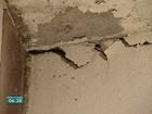 Casas são interditadas por causa de rachaduras, em Colatina, ES