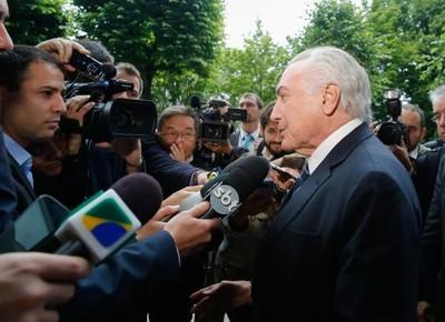 politica-temer-hamburgo (Foto: Agência Brasil)