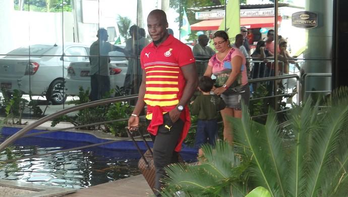 Stephen Appiah Gana (Foto: Leonardo Freire/GloboEsporte.com)