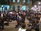 Manifestação contra o governador do RJ termina em confusão