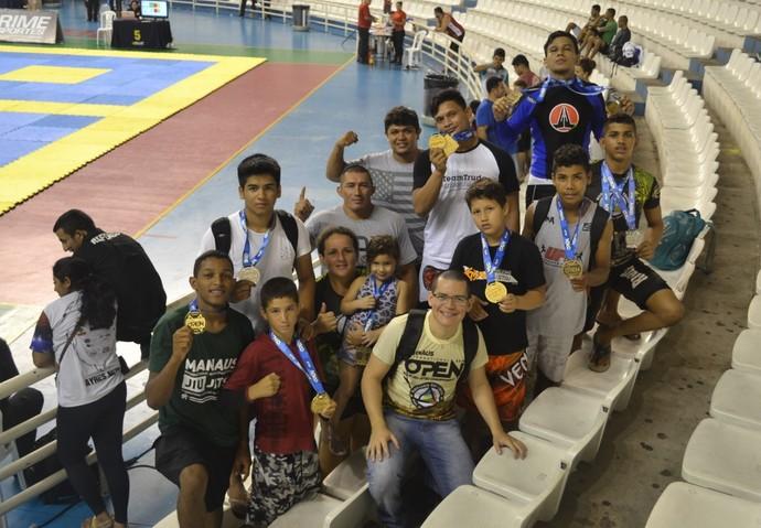 RTT fez bonito no evento de jiu-jítsu na capital amazonense (Foto: Imagem/Divulgação)