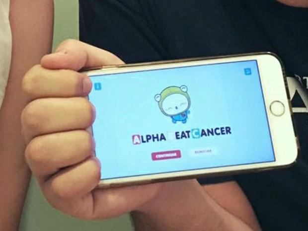 Jogo AlphaBeatCancer foi criado para desmistificar o câncer infantil e tratamentos (Foto: Divulgação/Mukutu)
