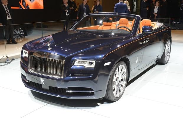 Rolls-Royce Dawn no Salão de Frankfurt (Foto: Newspress)