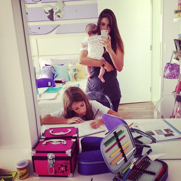 Vera Viel e as filhas (Foto: Instagram / Reprodução)