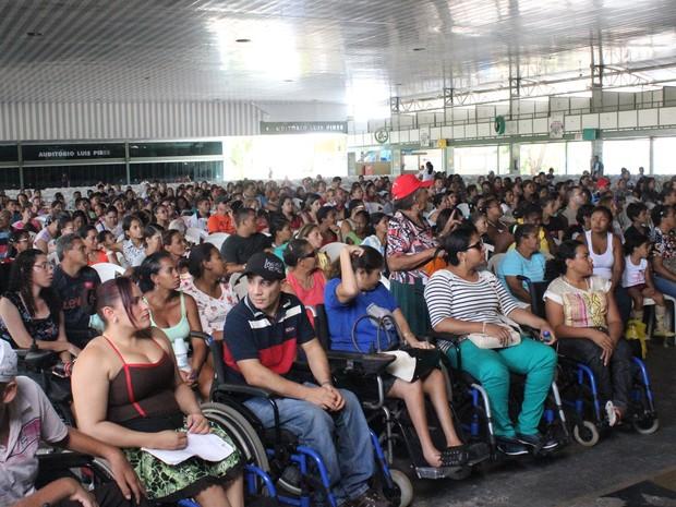 Novas unidades do Minha Casa Minha Vida foram sorteadas em Teresina (Foto: Catarina Costa/G1 PI)
