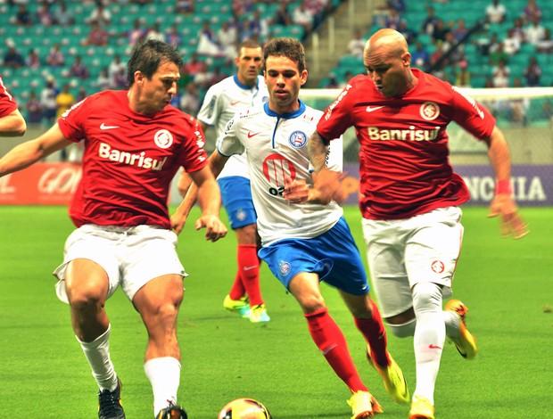 Gabriel jogo Bahia e Internacional (Foto: Vaner Casaes/BA Press/Futura Press)