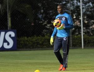 Elisson, goleiro do Cruzeiro (Foto: Divulgação/Cruzeiro)
