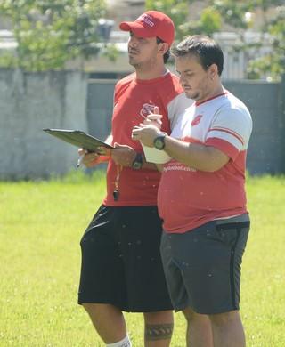 PH Lamounier técnico União Mogi (Foto: Bruno Rocha)
