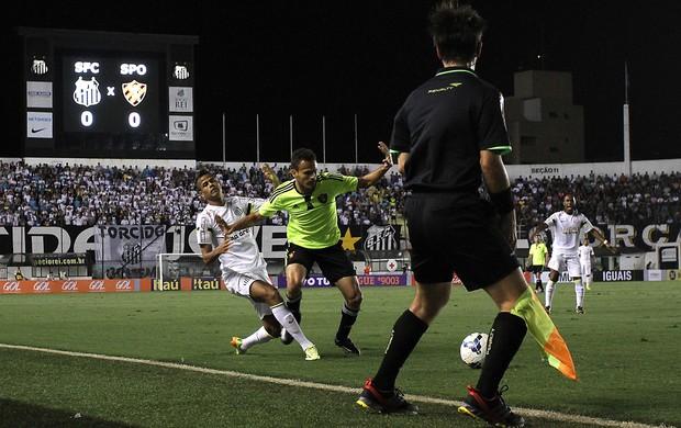 Geovanio Santos x Sport (Foto: Lucas  Baptista / Futura Press)