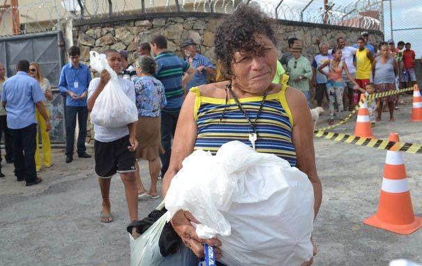 A comunidade agradece pela ação realizada há 21 anos (Foto: Divulgação / TV Sergipe)