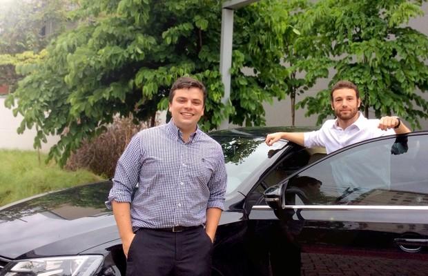 Conrado Ramires e Bruno Hacad, da Pegcar (Foto: Divulgação)