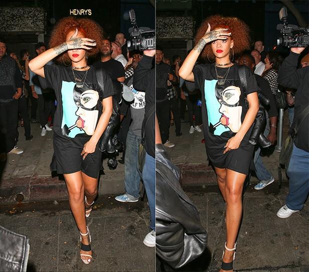 Rihanna (Foto: X17online / Agência)