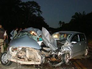 acidente em camaçari (Foto: Everaldo Lins/Divulgação)