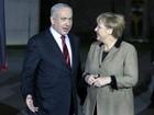 Em meio a crise de assentamentos, premiê de Israel visita a Alemanha