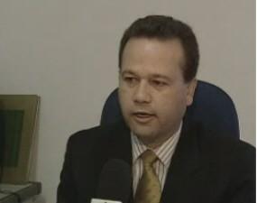 Delegado Damaio Marino, ex-titular do 6ºDP em São José (Foto: Reprodução/TV Vanguarda)