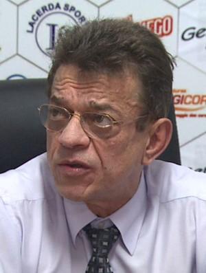 Nelson Lacerda, presidente do Comercial (Foto: César Tadeu / EPTV)