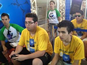 Paulo Martins, campeão em 2013, busca novo título no TEM Games (Foto: Tatiane Santos / G1)