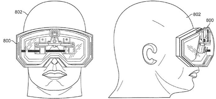 Patente da Apple mostra óculos com display ao estilo Google Glass (Foto: Reprodução/Macrumors) (Foto: Patente da Apple mostra óculos com display ao estilo Google Glass (Foto: Reprodução/Macrumors))