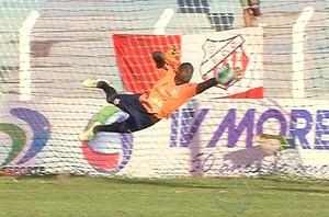 Martins, melhor goleiro do Campeonato Sul-Mato-Grossense (Foto: Reprodução/TV Morena)