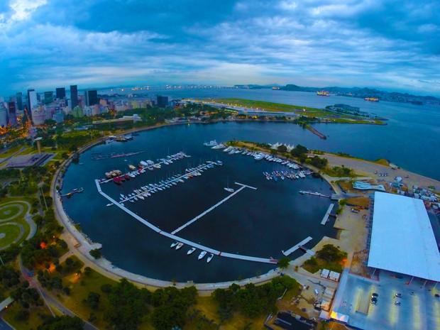 Marina da Glória foi totalmente revitalizada e reintegrada ao Parque do Flamengo (Foto: BR Marinas/Divulgação)
