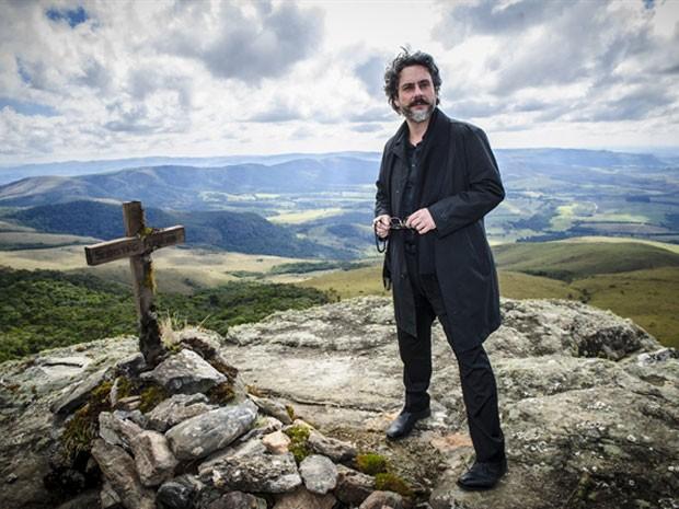 Alexandre Nero como o comendador José Alfredo, protagonista da novela 'Império', indicada ao Emmy Internacional (Foto: Globo/Alex Carvalho)