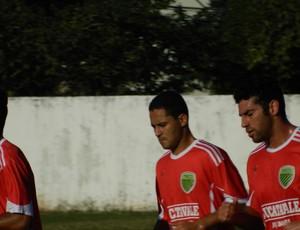 Daniel Fernandes(Centro),é uma dos atletas do elenco. (Foto: Kaleo Martins / Globoesporte.com)