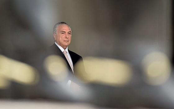 Michel Temer,presidente do Brasil (Foto:   Ricardo Botelho/Brazil Photo Press / Agência O Globo)