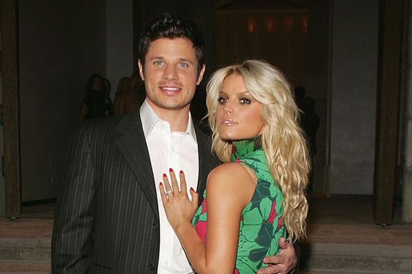 Jessica Simpson e Nick Lachey (Foto: Getty Images)