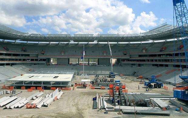 obras estádio Arena Pernambuco Copa 2014 Fifa (Foto: Divulgação / FIFA.com)