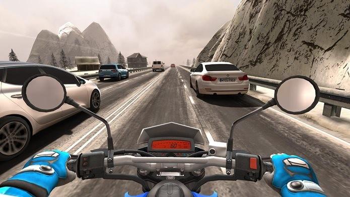 Traffic Rider vai te impressionar com gráficos bonitos e simulação realista (Foto: Divulgação / Soner Kara)